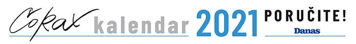 Corax Kalendar 2021 - Poručite Danas