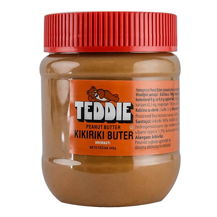 Kikiriki Buter Teddie